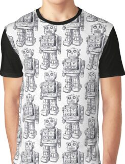 Toy Robot drawing Graphic T-Shirt