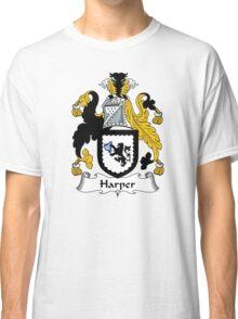 Harper Coat of Arms / Harper Family Crest Classic T-Shirt