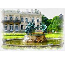 Castle Den Brandt - Antwerp - Belgium Photographic Print