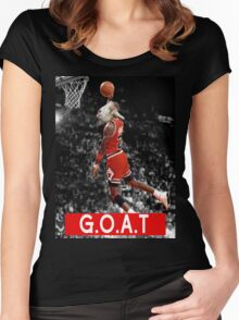 The G.O.A.T Women's Fitted Scoop T-Shirt