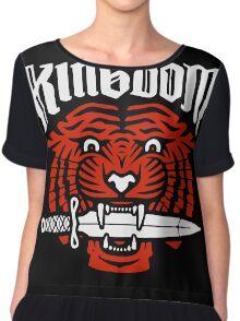 Kingdom The Walkind Dead TWD Chiffon Top
