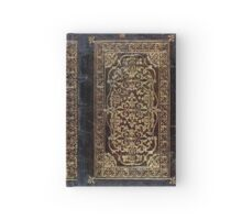 Gilded Leather Tome Hardcover Journal