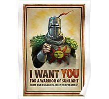 Dark Souls cop Poster