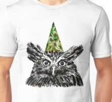 Party Owl Unisex T-Shirt