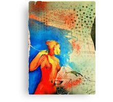 Falling Into Fusion Canvas Print