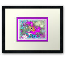 All One People Planet Love Framed Print