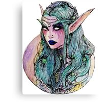 The night elf Canvas Print
