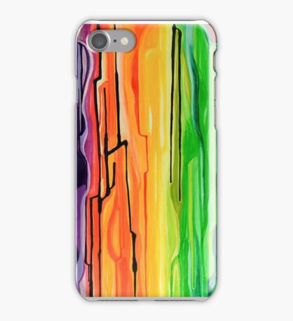 Color Drips 1 iPhone Case/Skin