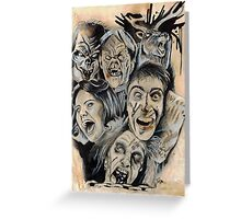 Evil Dead Caffeine Shock Greeting Card