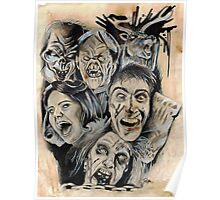 Evil Dead Caffeine Shock Poster