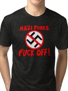 Dead Kennedys - Nazi Punks Fuck Off T-Shirt Tri-blend T-Shirt