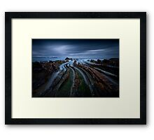 Addictive Curves Framed Print