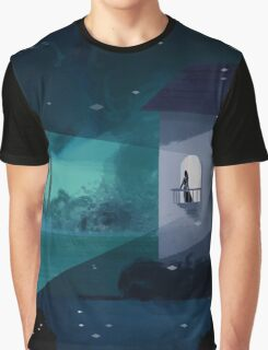 waiting on the balcony Graphic T-Shirt