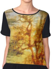 Being with Trees Women's Chiffon Top