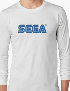 Sega classic arcade and console games Long Sleeve T-Shirt