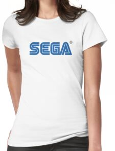 Sega classic arcade and console games Womens Fitted T-Shirt