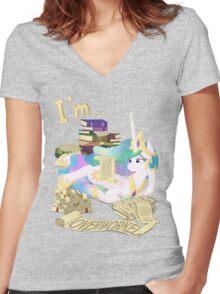 I'm... Celestia Women's Fitted V-Neck T-Shirt