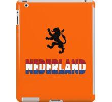 Nederland iPad Case/Skin