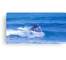 Surfing is Fun! Canvas Print