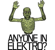 Anyone in Elektro? Photographic Print