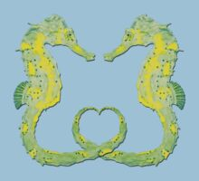 Seepferdchen - Sea Horse  version 12 Baby Tee