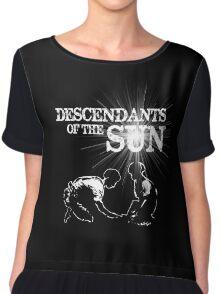 Descendants of the Sun Chiffon Top