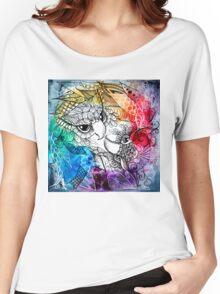 Owl yinyang zentangle Women's Relaxed Fit T-Shirt