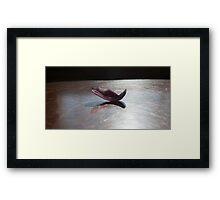 Yoga - Dhanurasana Framed Print