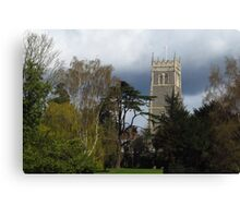 St Mary's Church, Woodbridge Canvas Print