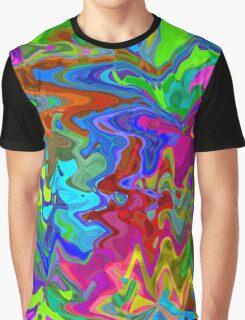 Rainbow seamless pattern Graphic T-Shirt