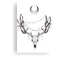 Christmas for the Morbid Canvas Print