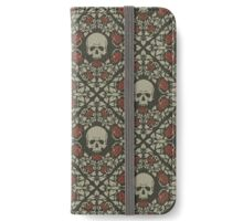 Skulls and roses iPhone Wallet/Case/Skin