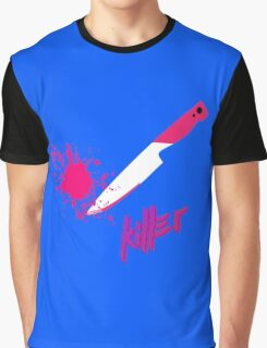 Hipster knife - Killer Graphic T-Shirt