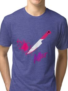 Hipster knife - Killer Tri-blend T-Shirt