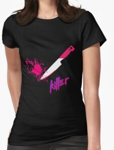 Hipster knife - Killer Womens Fitted T-Shirt