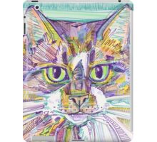 Maine Coon cat drawing - 2016 iPad Case/Skin