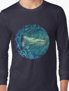 Moonlit Sea Long Sleeve T-Shirt