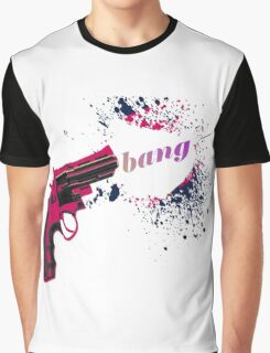 Gun Bang Graphic T-Shirt
