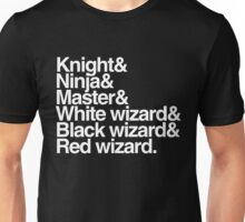 Final Fantasy Job Upgrade (white text) Unisex T-Shirt
