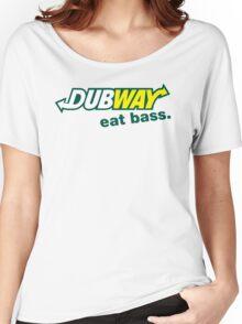 Dubway - Eat Bass Women's Relaxed Fit T-Shirt