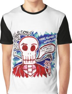 Skeletons Are Cool Graphic T-Shirt