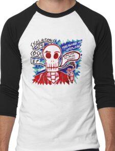 Skeletons Are Cool Men's Baseball ¾ T-Shirt