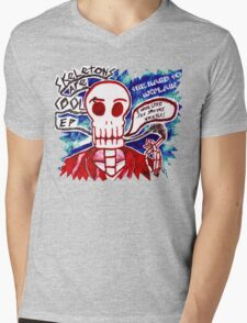 Skeletons Are Cool Mens V-Neck T-Shirt