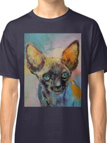 Sphynx Cat Portrait Classic T-Shirt