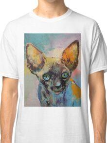 Sphynx Cat Portrait Classic T-Shirt