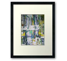 Suddenly OLIVIA NEWTON-JOHN - Original Wall Modern Abstract Art Painting Framed Print