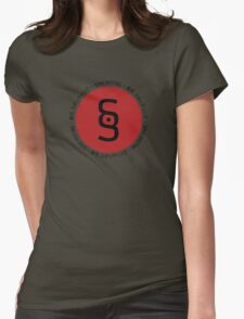 Sushi Spotting (japanese & english) Womens Fitted T-Shirt