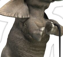 Tap Dancing Elephant Sticker