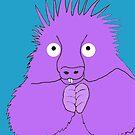 Whimsical purple Urson by mindgoop