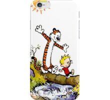 Calvin and Hobbes River iPhone Case/Skin